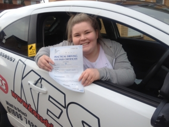 A massive thanks to Eamon at KESS driving school for helping me pass today with only 4 minors An absolutely fantastic driving instructorso patient and helps you to gain confidence Could not have done it without him<br />