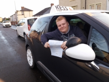 After taking lessons with a driving school from Coatbridge my confidence dropped friends recommended me to try KESS after a couple of lessons my confidence was good and now Ivacute;e passed first time<br />
