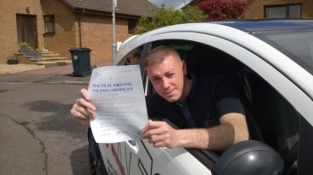 I have just passed my test first attempt and wanted to pass on my thanks to Eamon for helping me from start to finish He is a fantastic instructor that helped me with my nerves and self confidence on the road